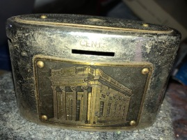 VINTAGE BANK COIN COLLECTOR