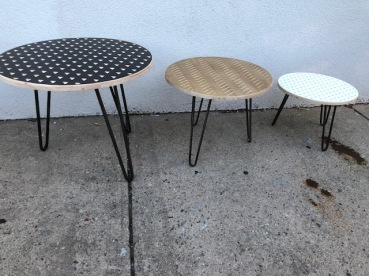 HAIRPIN LEG TABLES