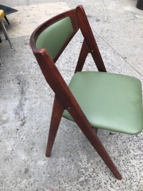 MID CENTURY FOLDING CHAIR $75