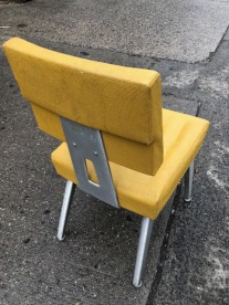 MID CENTURY MOD CHAIR BACK