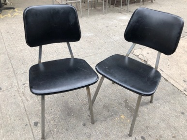 MID CENTURY PAIR OF CHAIRS