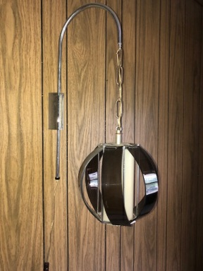 MID CENTURY WALL LAMP