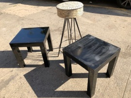 PLATIC SIDE TABLES