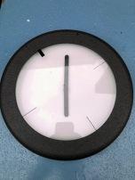 POST MODERN CLOCK