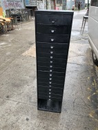 TALL SKINNY INDUSTRIAL CABINET