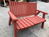 VINTAGE WOOD OUTDOOR CHAIR