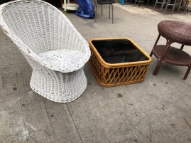 WICKER ITEMS