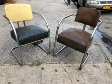 ART DECO CANTILEVER CHAIRS