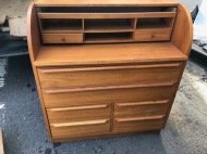 DANISH TEAK DESK DRFESSER