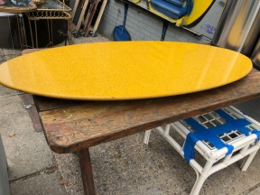 GRANITE SURFBOARD TABLE
