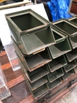 INDUSTRIAL STORAGE TRAYS
