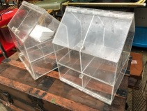LUCITE STORAGE HOUSE