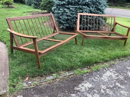 MID CENTURY MODERN BENCHES