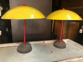 MID CENTURY NELSON LAMPS