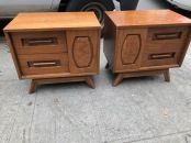 MIDCENTURY SIDE TABLES