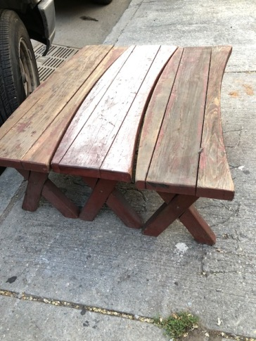 PICNIC BENCHES $45