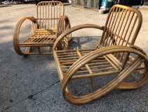 RATTAN LOUNGE CHAIRS 2