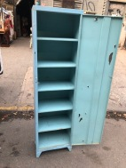 TALL METAL CABINET OPEN