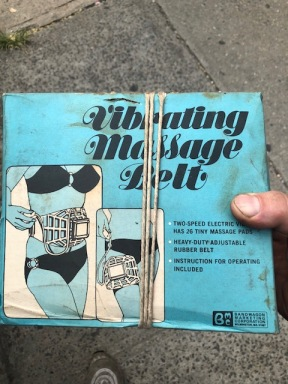 VINTAGE MASSAGE BELT
