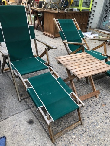 VINTAGE OUTDOOR FURNITURE