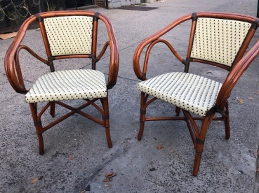 WICKER OUTDOOR CHAIRS