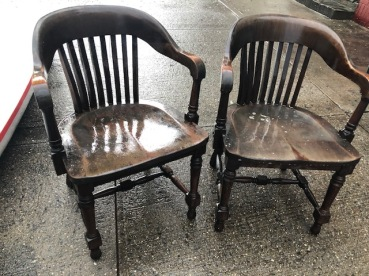 WOOD LAWYERS CHAIRS