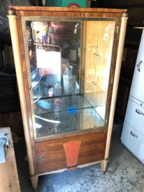 ANTIQUE MEDICAL CABINET $199