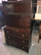 ART DECO DESK DRESSER