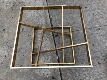 BRASS COFFEE TABLE BASE 2