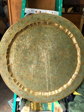 HUGE BRASS TABLE TOP