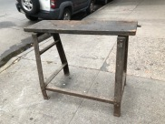 INDUSTRIAL WORK BENCH 46X42X37 TALL 15 INCH DEEP TOP X46
