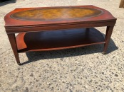 LEATHER COFFEE TABLE