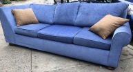 LUXURIOUS SOFA 96X41X33 TALL 19 INCHESFLOOR TO SEAT