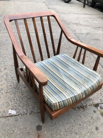 MID CENTURY LOUNGE CHAIR 2