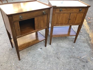 MID CENTURY SIDE TABLES $85 EA
