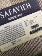 SAFAVIEH 8X10 SHAG RUG