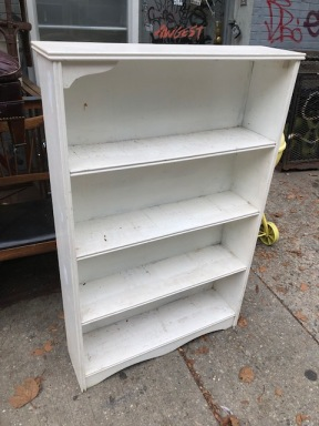 WOOD BOOK CASE 31X16X42 TALL