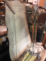 ART DECO LARGE MIRROR