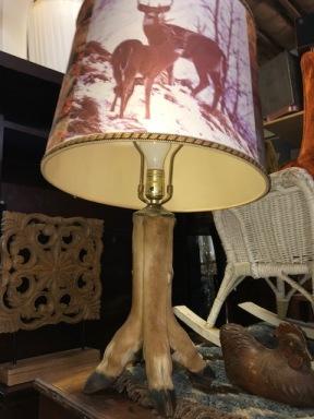 DEER LEG LAMP