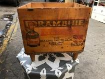 DRAMBUIE WOOD CRATE