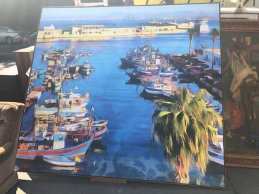 HUGE BOAT CANVAS