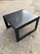 MID CENTURY COFFEE TABLE BLACK