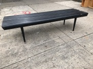WOOD SLAT NELSON BENCH