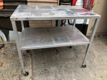 ALUMINUM PREP TABLE