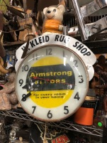 ARMSTRONG FLOORS CLOCK