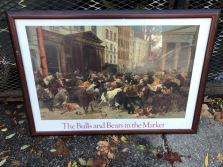 BULLS AND BEARS POSTER