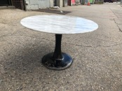 KNOLL MARBLE COFFEE TABLE $200