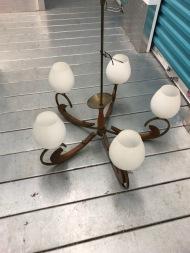 MID CENTURY CEILING LAMP