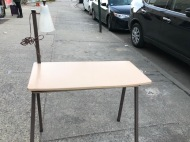 MID CENTURY DESK METAL