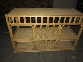RATTAN SHELF UNIT
